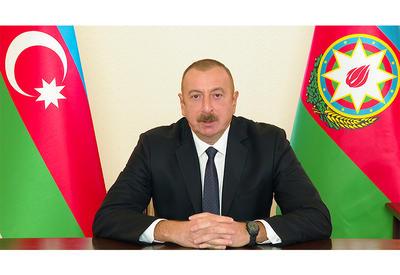 Президент Ильхам Алиев выступил с обращением к азербайджанскому народу  - ОБНОВЛЕНО - ФОТО