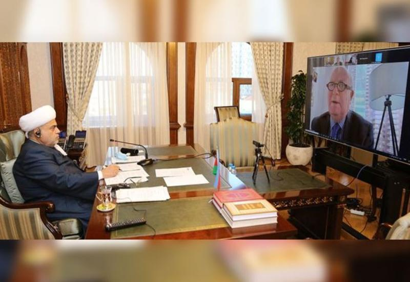 Аллахшукюр Пашазаде сообщил заместителю генсека ООН о зверствах Армении