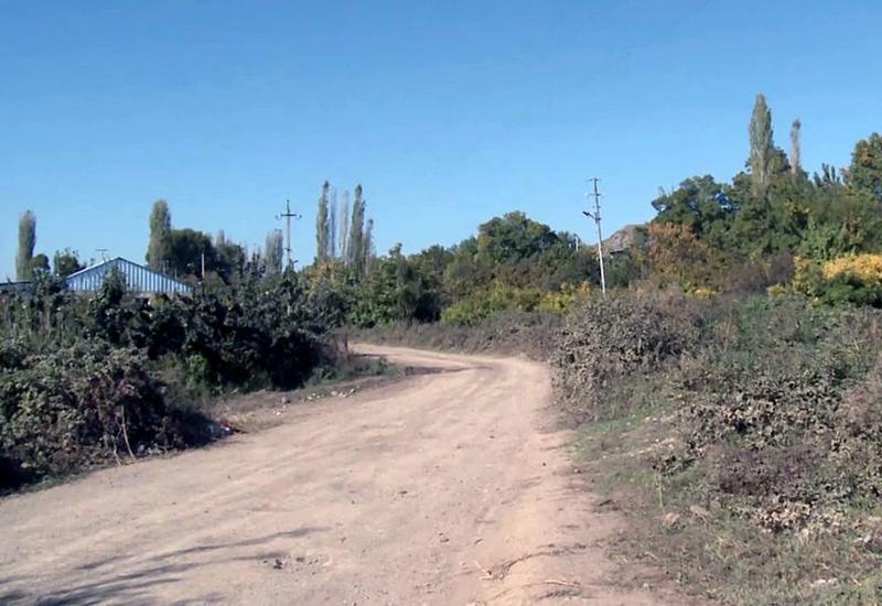 Село Падар после освобождения от армянской оккупации