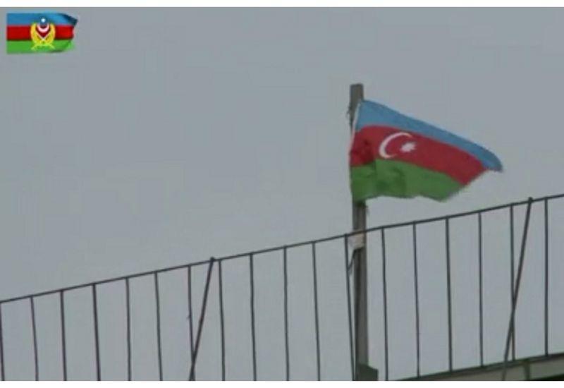 Флаг Азербайджана развевается над Губадлы
