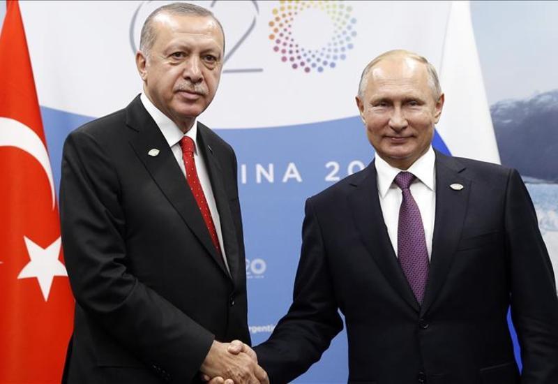 Путин и Эрдоган обсудили нагорно-карабахский конфликт