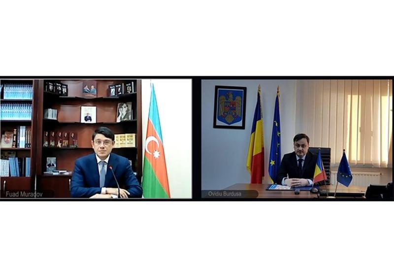 Фуад Мурадов сообщил госсекретарю Румынии об армянских зверствах