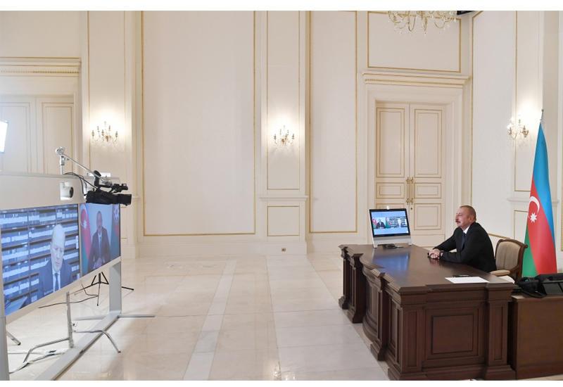 Prezident İlham Əliyev: Gümrüdəki bazadan vaxtaşırı olaraq Ermənistan silahlı qüvvələrinə təchizat göndərilir