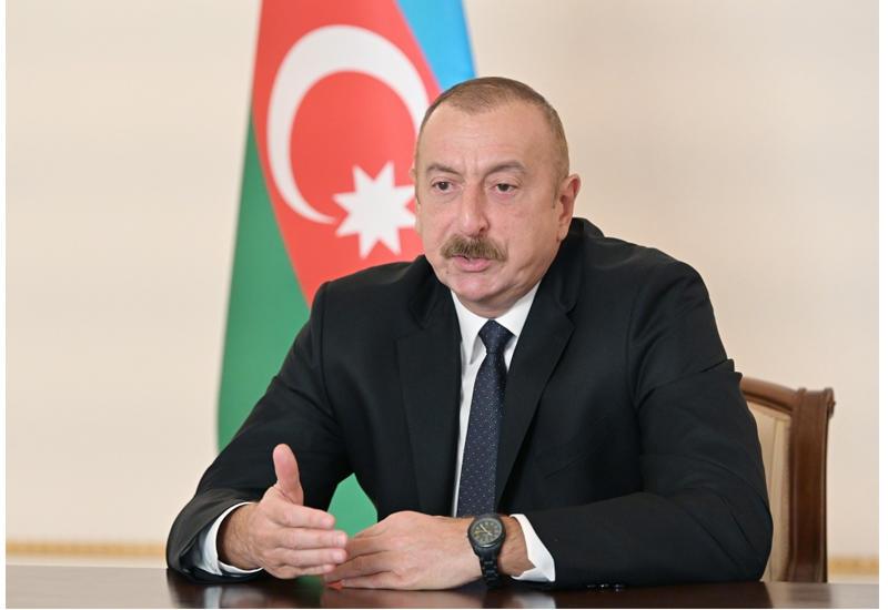 Президент Ильхам Алиев: Если Армения заявит, что принимает базовые принципы, тогда мы очень быстро придем к соглашению
