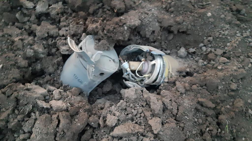 Армянская армия выпустила по Барде запрещенные кассетные ракеты