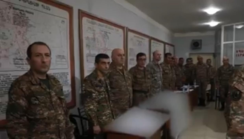 Сломленные армянские офицеры поняли