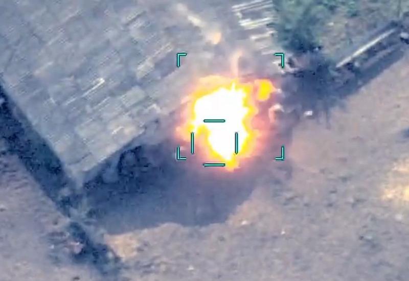 Армия Азербайджана уничтожила отступающие силы армян