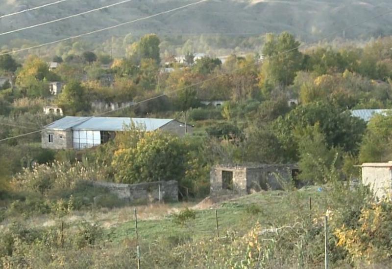 Освобожденные от оккупации села Гияслы и Сарыятаг Губадлинского района