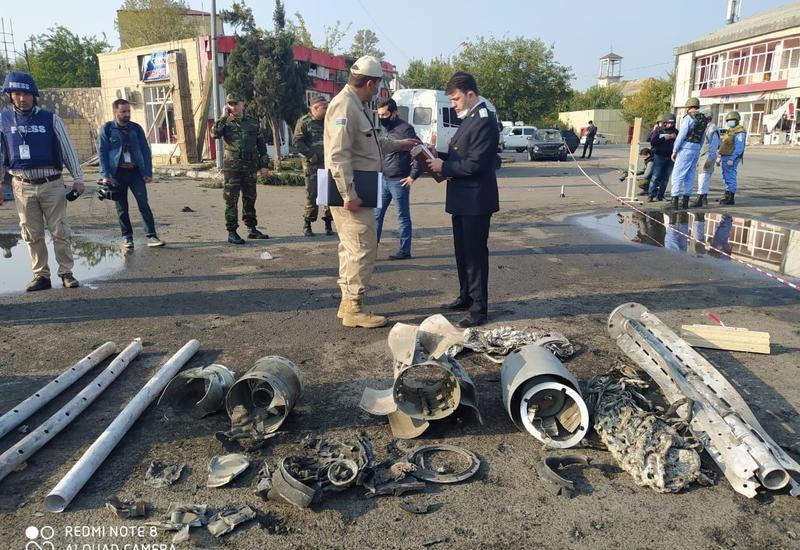 Названо количество выпущенных армянами по Барде кассетных бомб