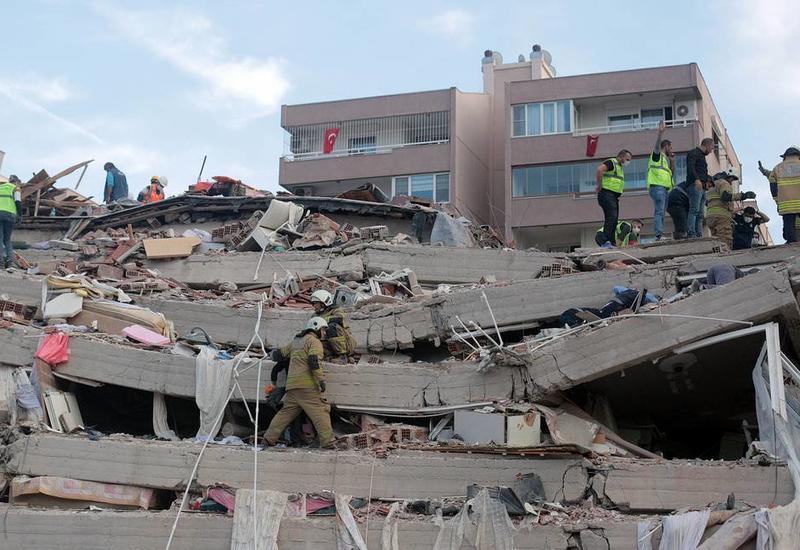 В Измире произошло еще одно землетрясение
