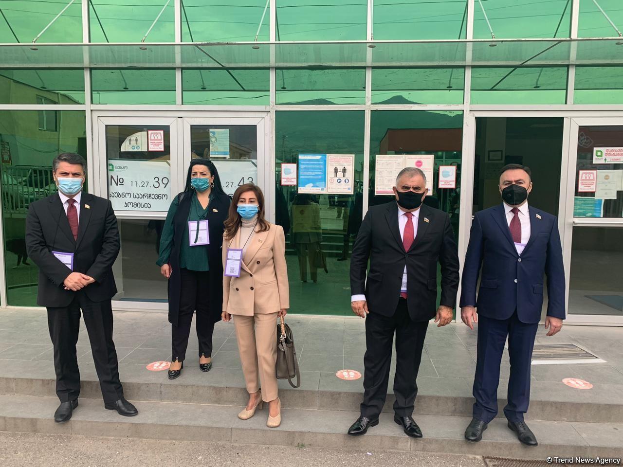 Ход голосования на парламентских выборах в Грузии нормальный