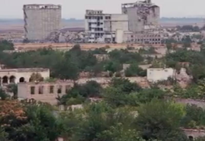 Агдам - разрушенный рай на карте Азербайджана