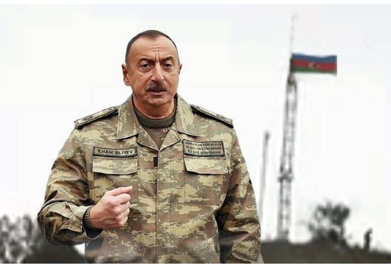 Весь Азербайджан стоит горой за Президентом Ильхамом Алиевым