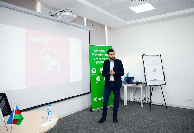 Kapital Bank запустил программу стажировки «BirCode Camp»