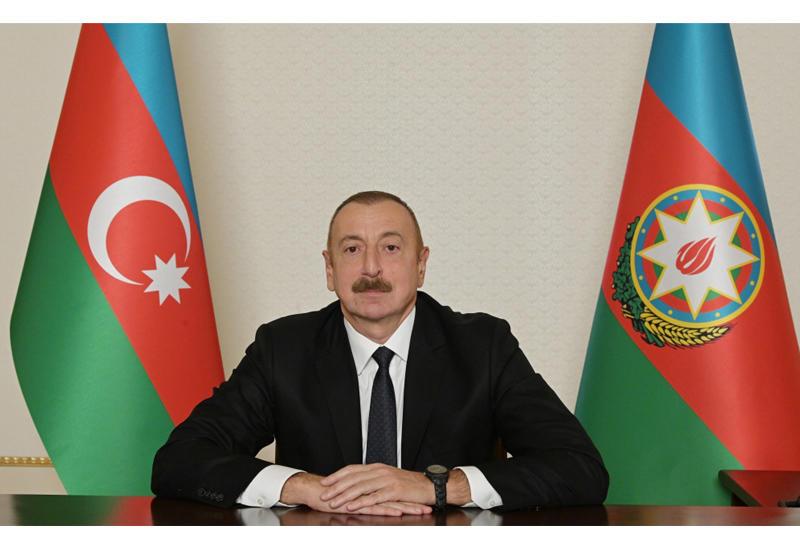 Президент Ильхам Алиев обратился к нации