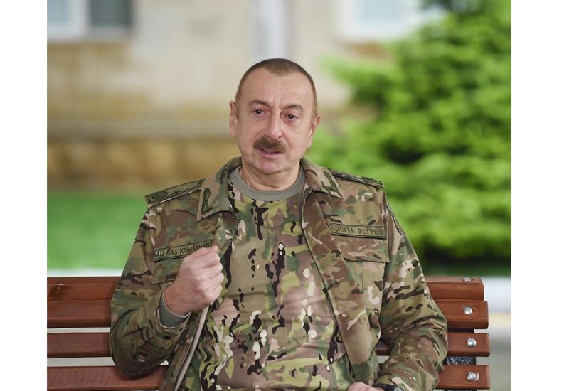Президент Ильхам Алиев: Отечественная война закончена. Азербайджан одержал в этой войне блестящую победу