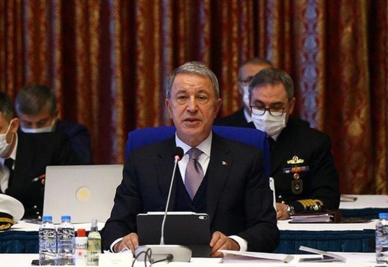 Хулуси Акар заявил, что Турция будет представлена в совместной миротворческой миссии в Карабахе