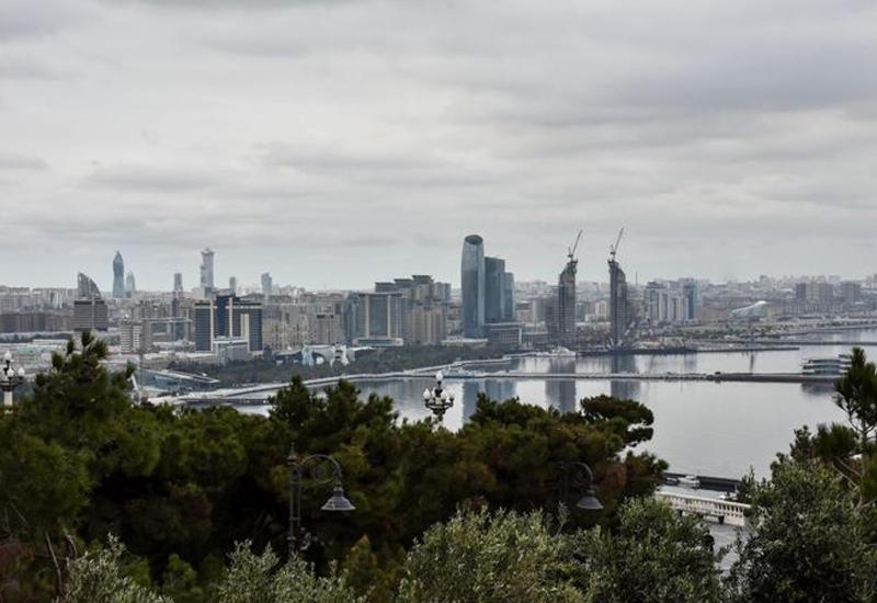 Погода в Баку ухудшится, температура понизится на 4-6 градусов