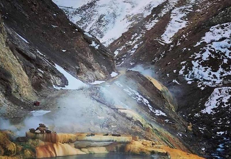 Красоты гор Кельбаджара в блоге Вахида Гасанова