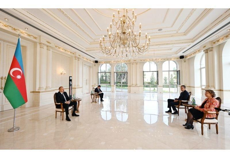Президент Ильхам Алиев: Принятие вашим парламентом несправедливого постановления не будет содействовать налаживанию нами более близких связей