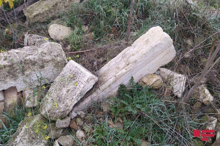 Армяне разрушили мечеть в Физули