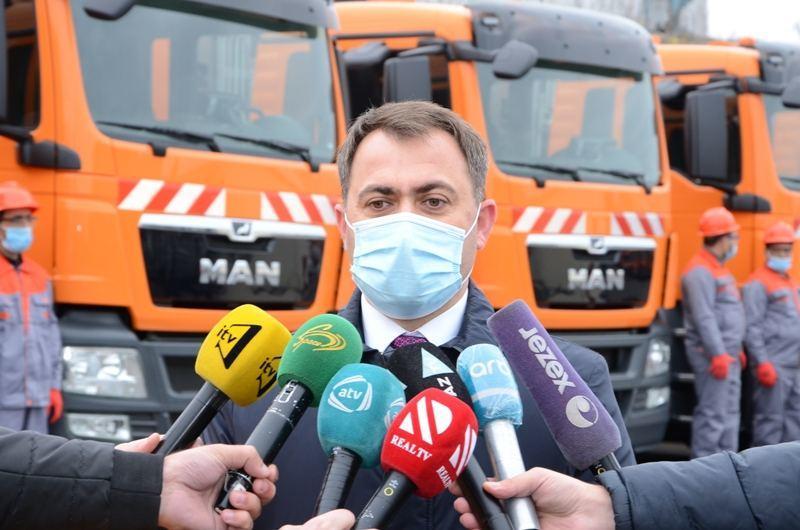 В Баку доставлена новая техника спецназначения