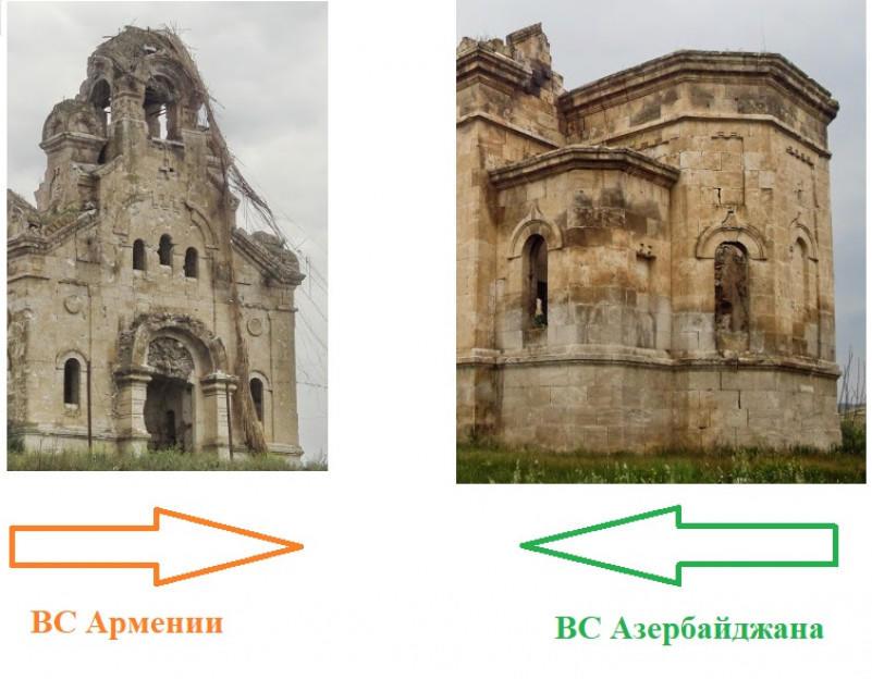 Армяне разрушили последнюю русскую церковь в Нагорном Карабахе