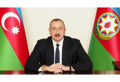 Президент Ильхам Алиев обратился к азербайджанскому народу - ФОТО - ВИДЕО