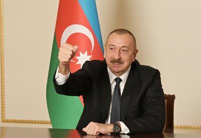Президент Ильхам Алиев: Освобождение Агдама от оккупации стало возможным в результате славной военной Победы