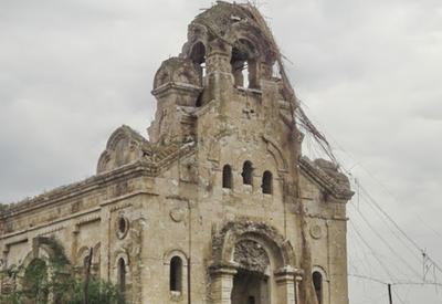 Армяне разрушили последнюю русскую церковь в Нагорном Карабахе - ФОТО
