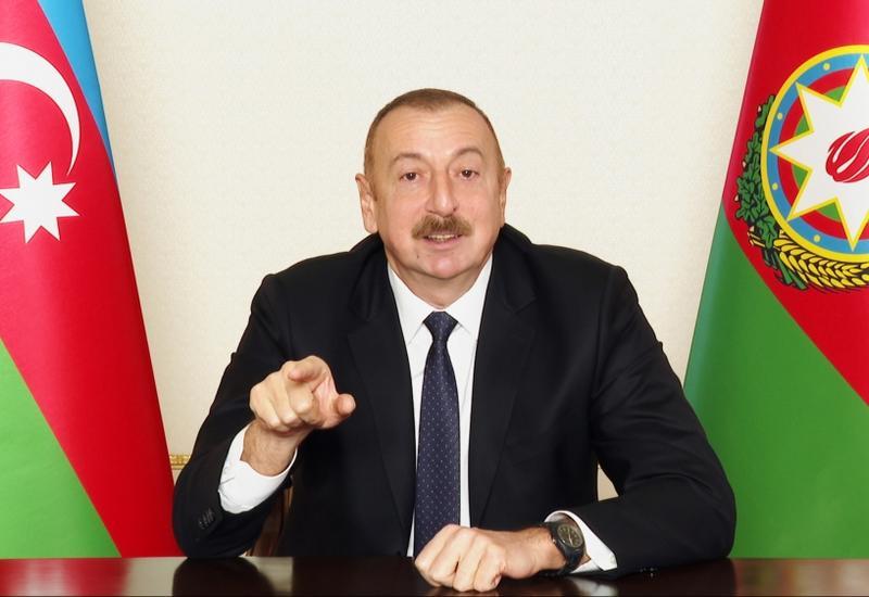 Президент Ильхам Алиев об Армении: Спусти свой флаг, сложи его, положи в карман и иди живи в составе другой страны