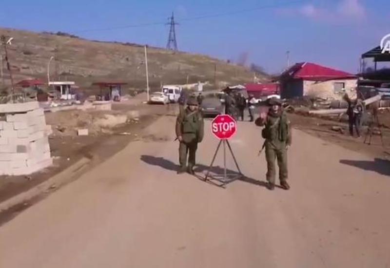 Размещение российских миротворцев в Нагорном Карабахе