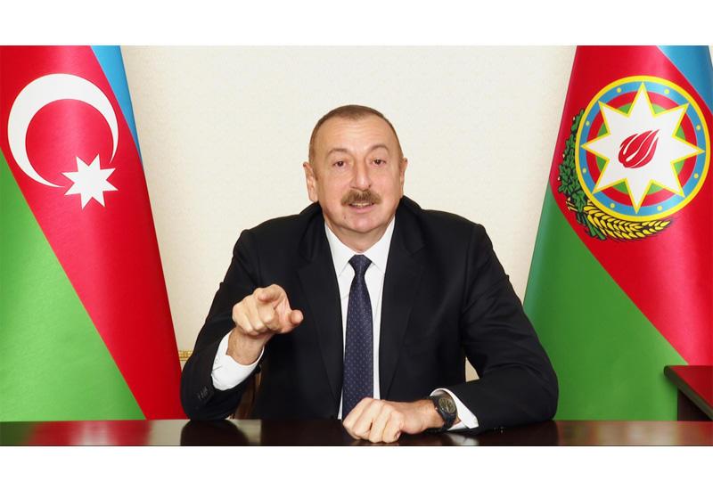 Президент Ильхам Алиев: Автомобильная дорога Агдам-Ханкенди-Шуша откроется через определенное время