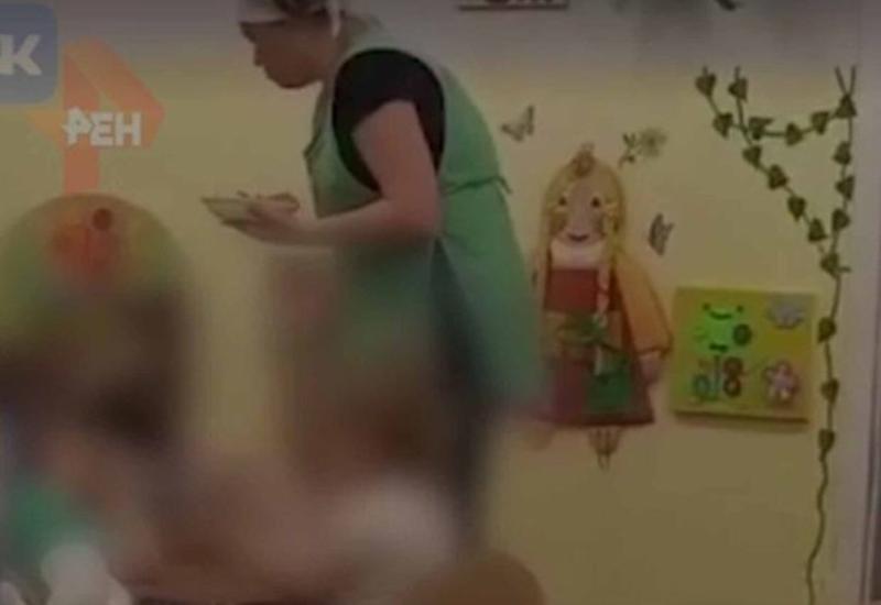 Воспитательница детсада избила ребенка во время еды