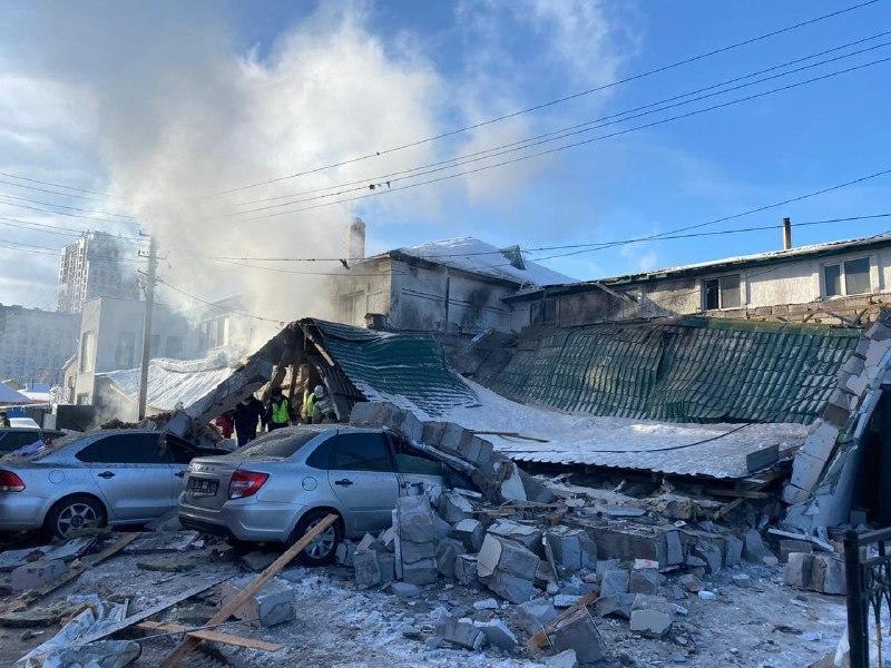 Сильный взрыв в Нур-Султане, десятки пострадавших