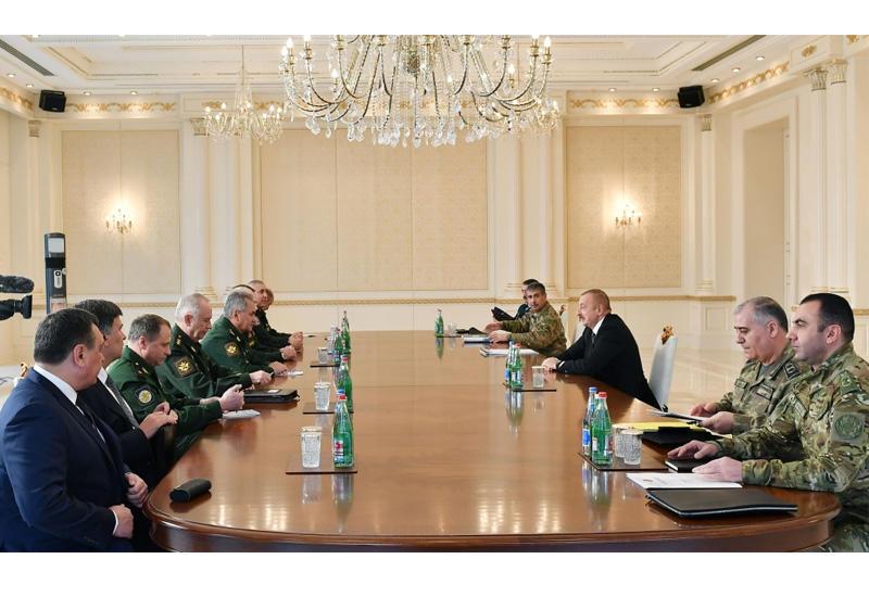 Президент Ильхам Алиев: За период военных действий армянской стороной были грубо нарушены все нормы ведения войны