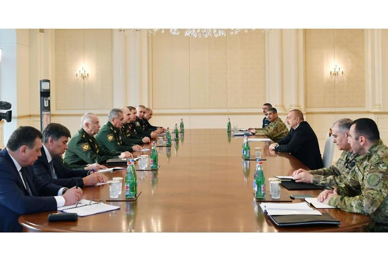Президент Ильхам Алиев: Положения заявления выполняются успешно