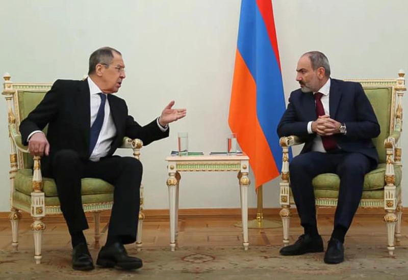 Лавров провел встречу с Пашиняном