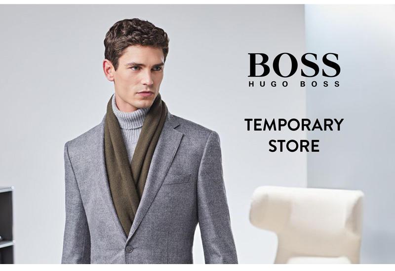 Hugo Boss открывает временный магазин (R)