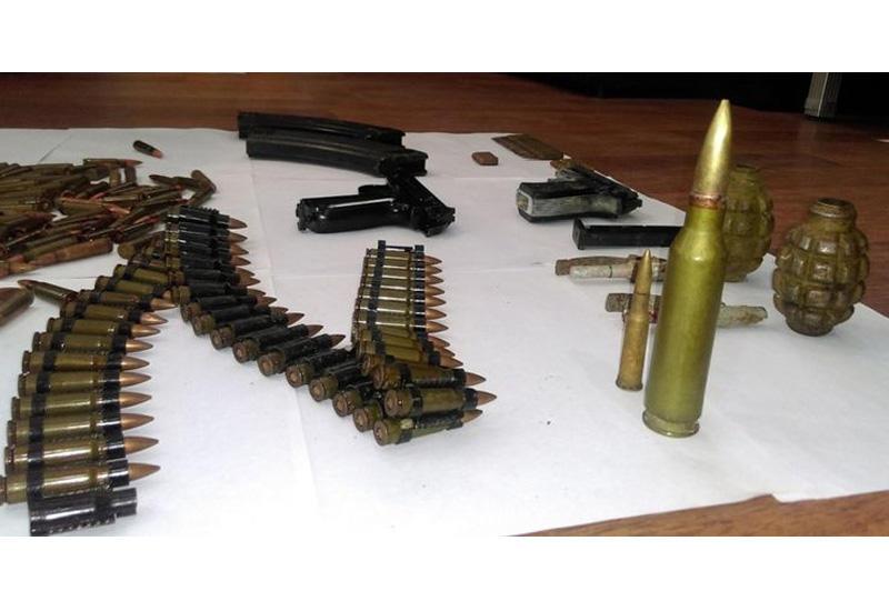На нардаранском кладбище нашли боеприпасы