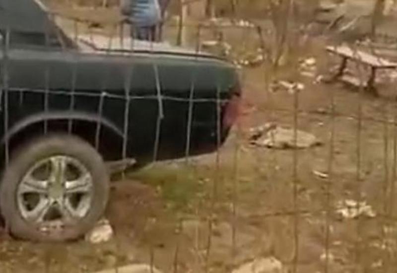 Азербайджанская армия проводила армян, не успевших покинуть Агдамский район