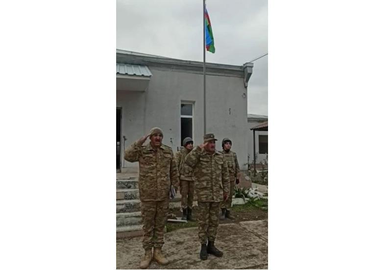 Азербайджанский флаг поднят в селе Шелли Агдамского района