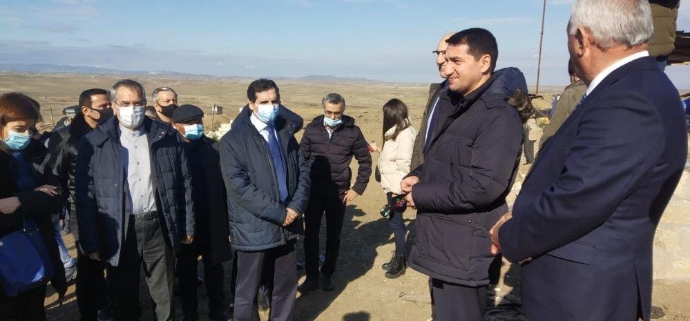 Иностранные дипломаты ознакомились с преступлениями армян в Физули