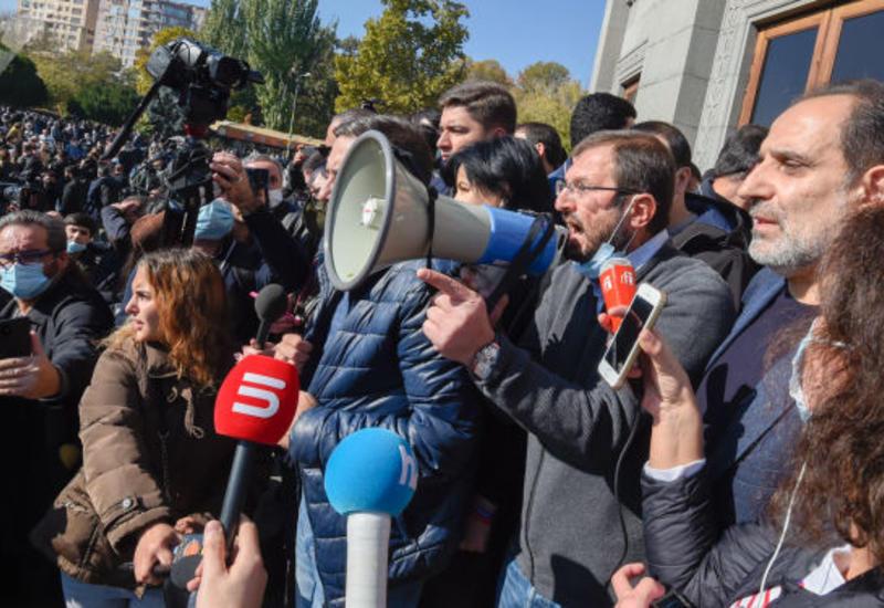 Один из лидеров дашнаков объявил голодовку