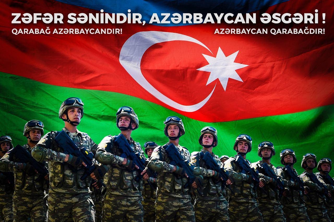 Народный художник Ариф Гусейнов создал серию плакатов, посвящённых Победе Азербайджана