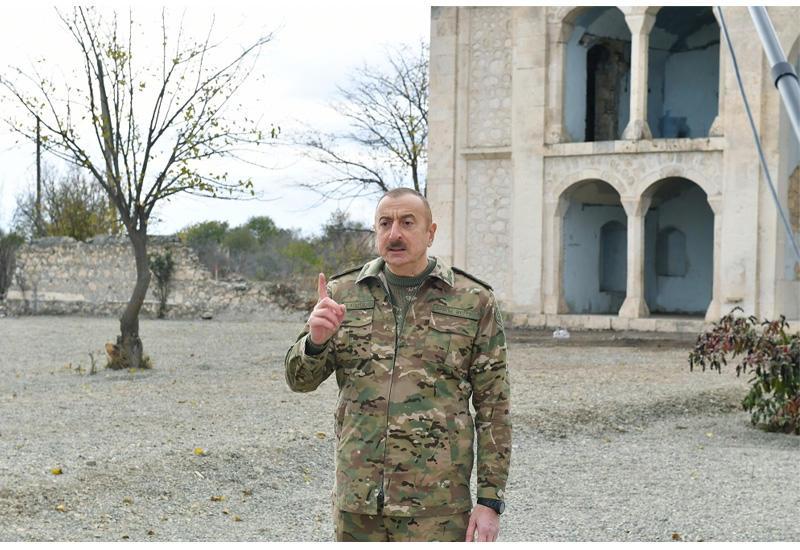 Prezident İlham Əliyev: Biz Ağdam şəhərini bərpa edəcəyik