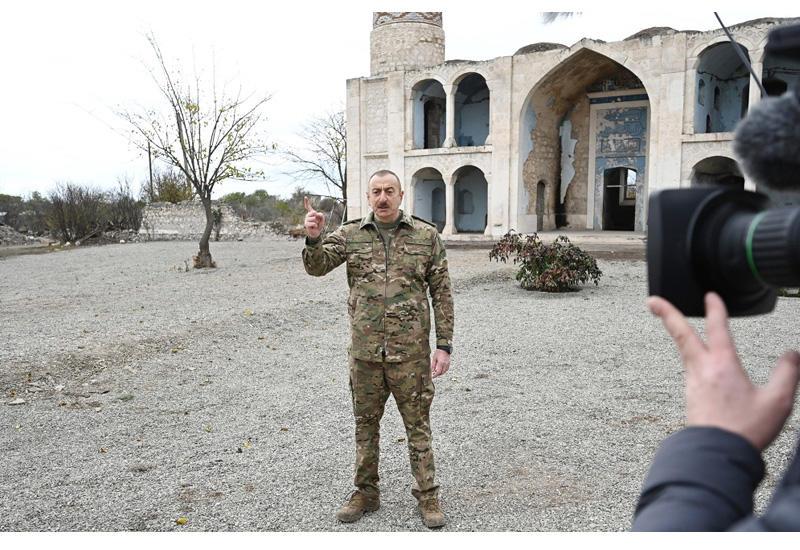 Президент Ильхам Алиев: Нам удалось получить необходимую международную поддержку в главном для нас вопросе