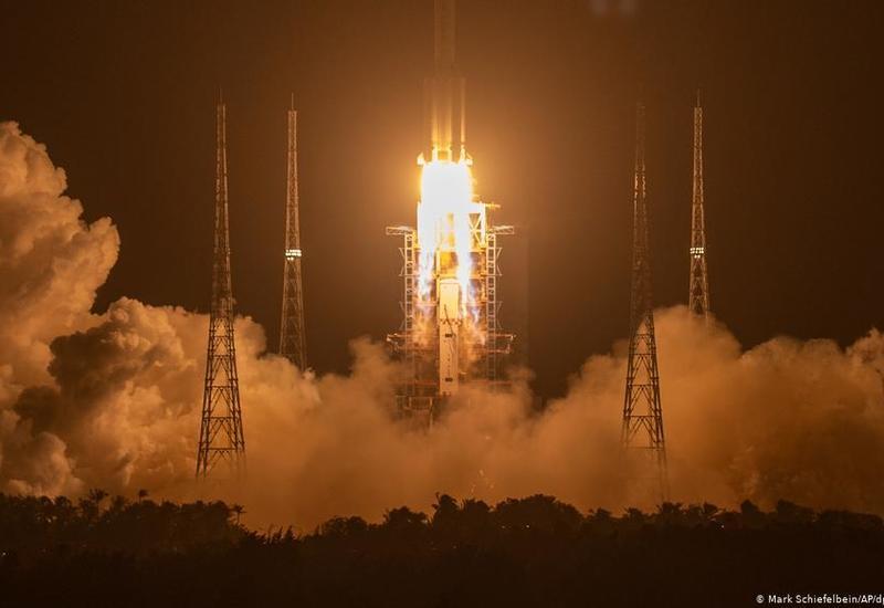 Китай отправил на Луну буровую установку
