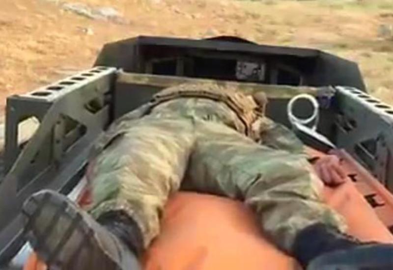 Турция создала робота для эвакуации раненых солдат с поля боя