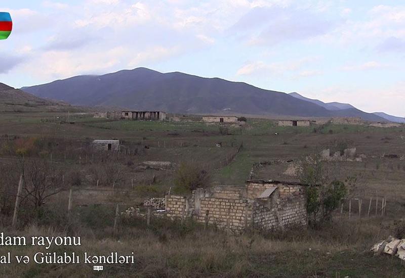 Освобожденные от оккупации села Абдал и Гюлаблы Агдамского района